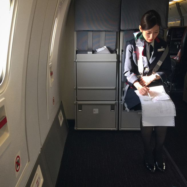 Takeoff on Japan Airlines flight 8413 | In the Air