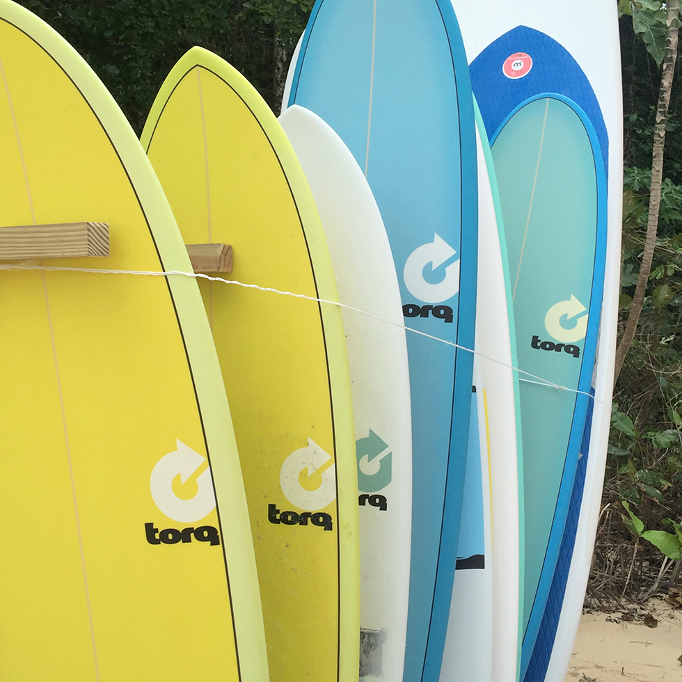 Surf's up at Amanera   Dominican Republic