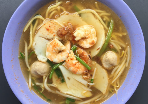 Prawn Mee At Min Nan Pork Ribs Prawn Noodle | Singapore