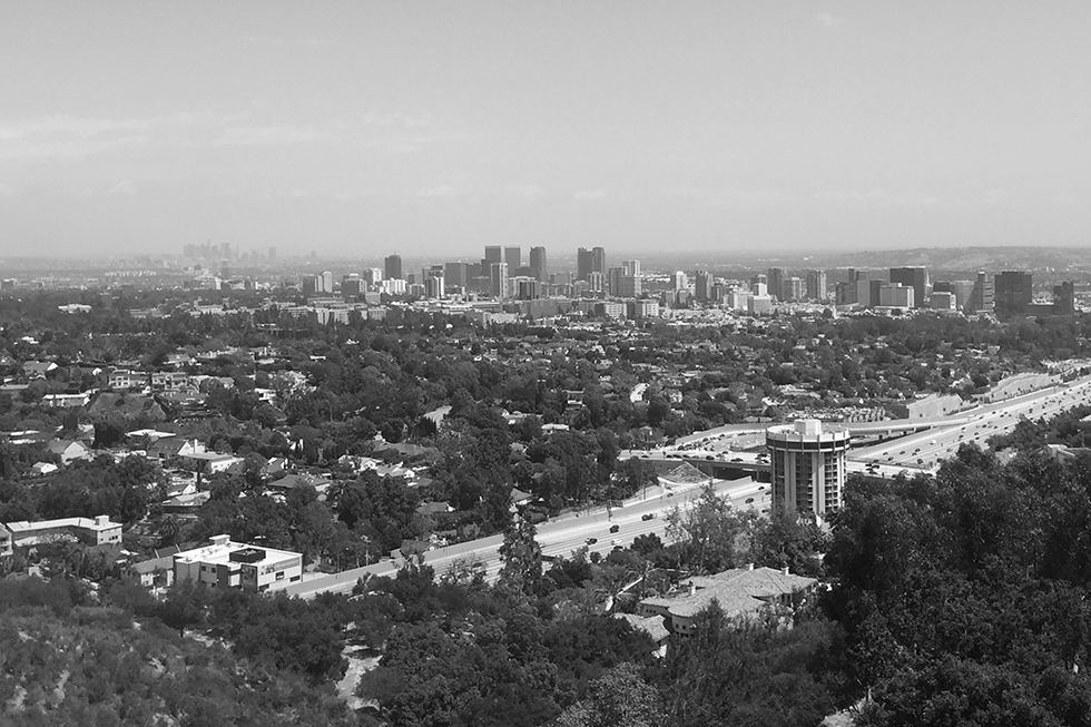 The view from The Getty | Los Angeles, California