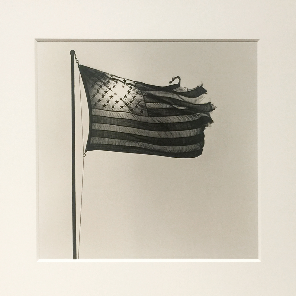 'The American Flag' by Mapplethorpe at The Getty | Los Angeles, California
