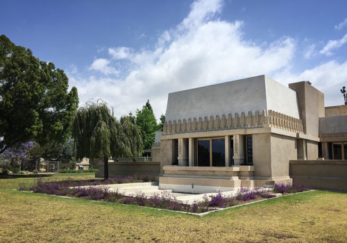 Frank Lloyd Wright's Hollyhock House | Los Angeles, California