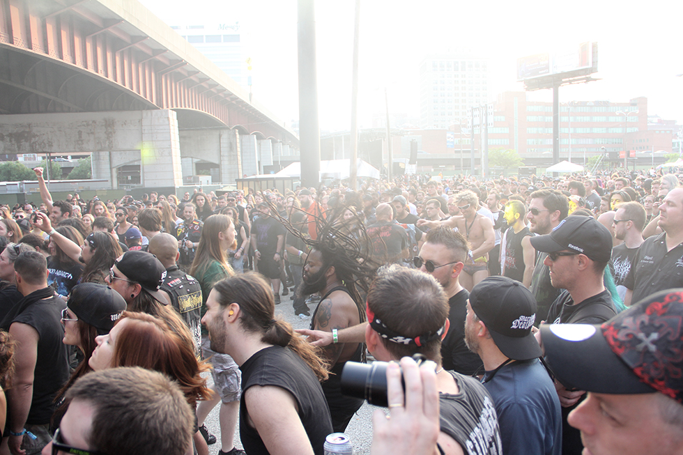 The crowd at Maryland Deathfest 2016 | Baltimore, Maryland