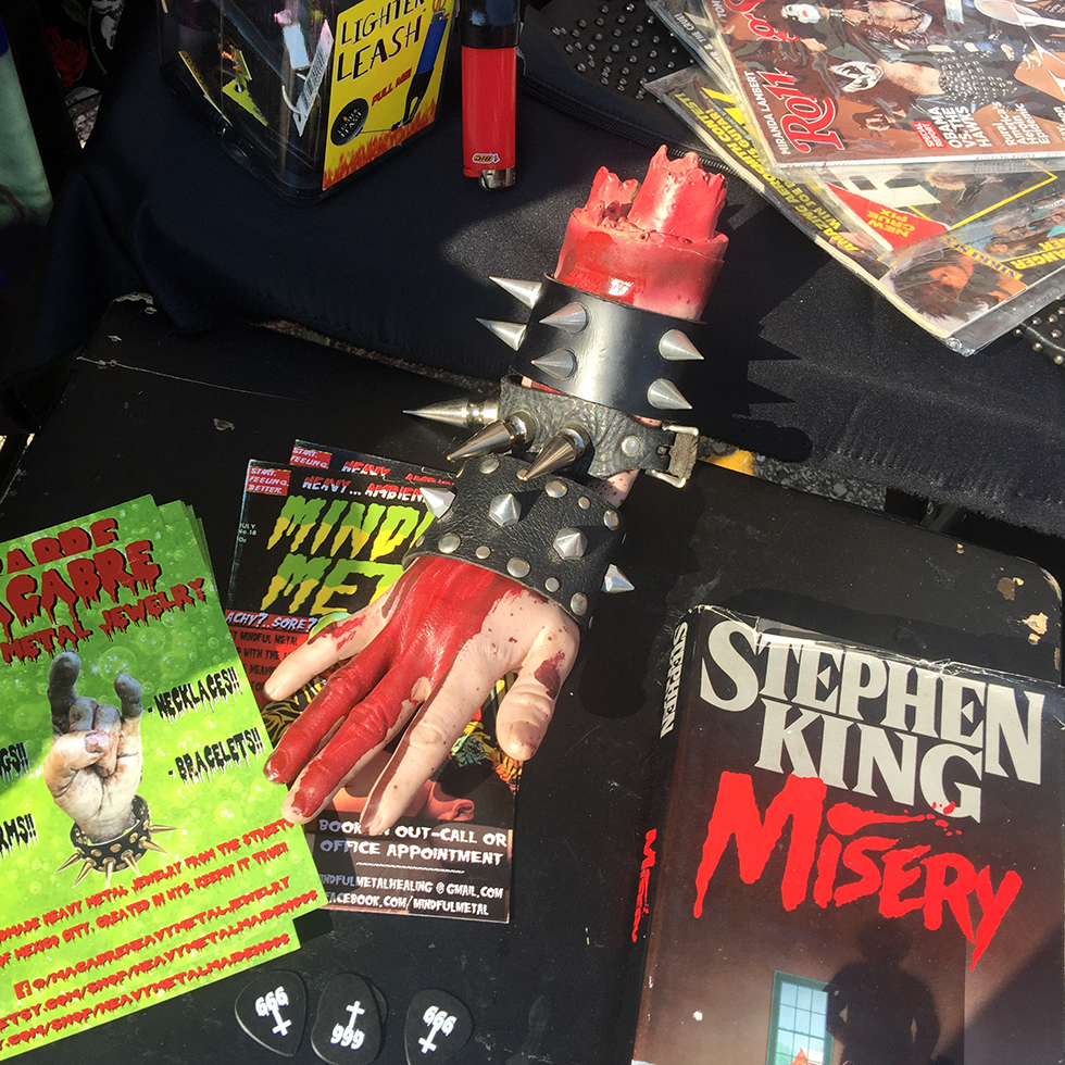 Merchandise at Maryland Deathfest 2016 | Baltimore, Maryland