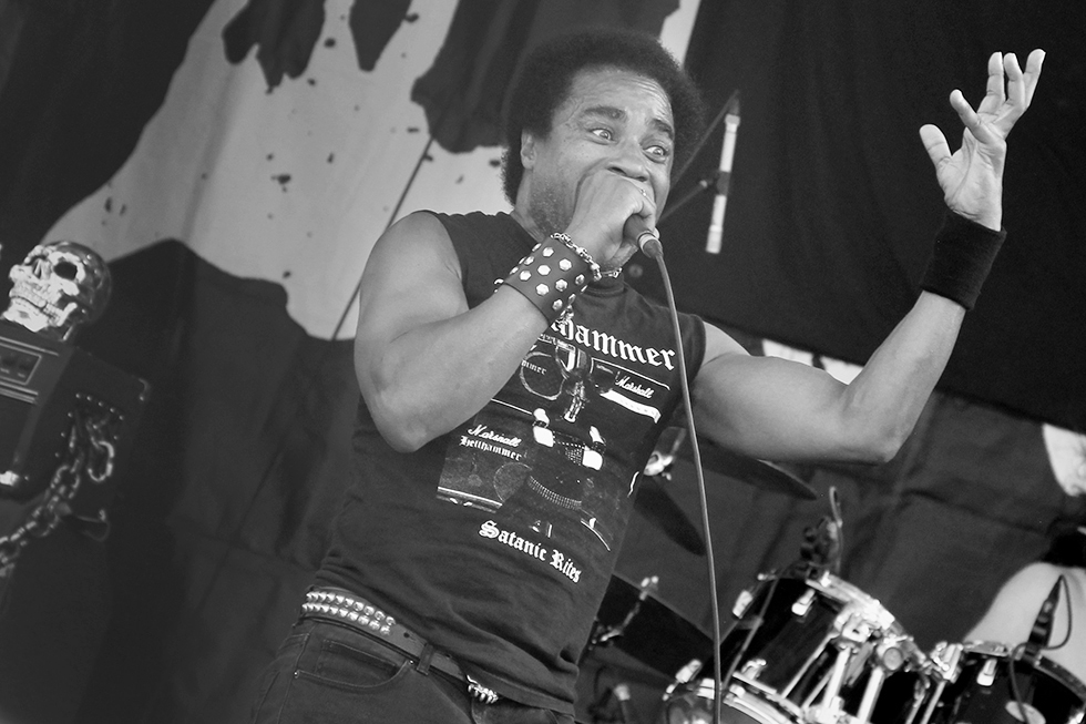 Katon W. DePena of Hirax at Maryland Deathfest 2016 | Baltimore, Maryland
