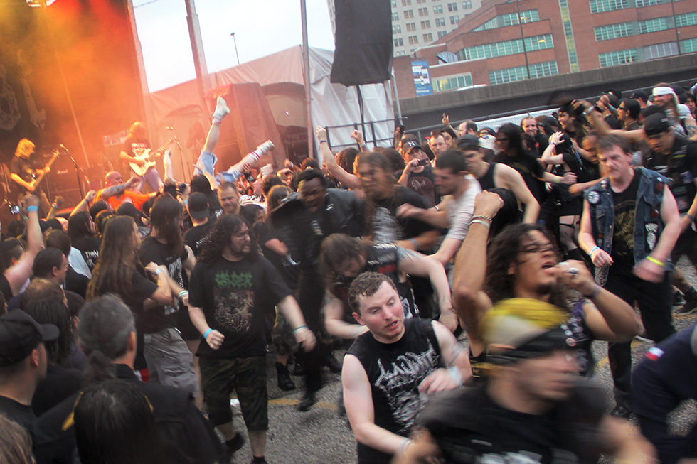 Mosh pit at Maryland Deathfest 2016 | Baltimore, Maryland