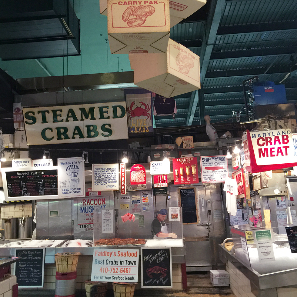 Faidley's Seafood at Lexington Market | Baltimore, Maryland