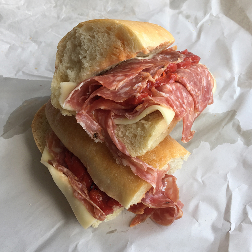Soppressata Sub at Trinacria Foods | Baltimore, Maryland