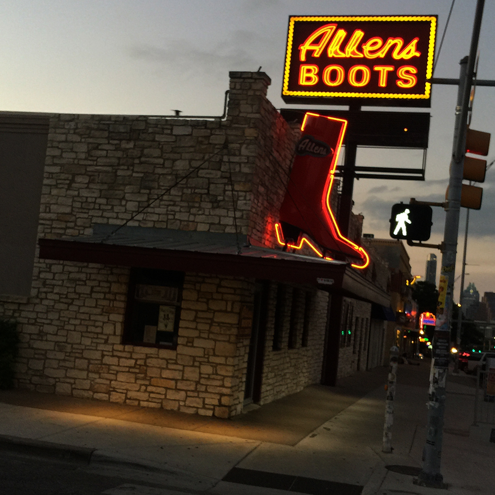 Allen Boots on South Congress Street | Austin, Texas