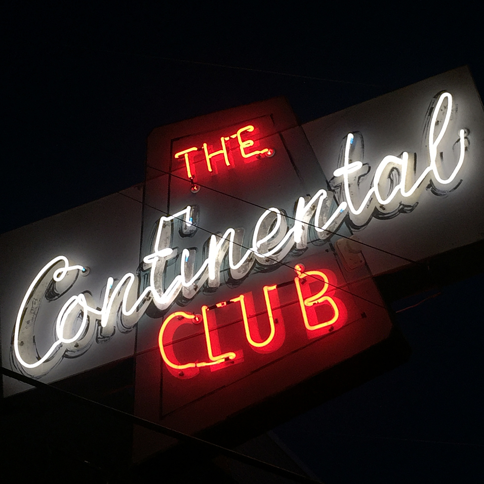 The Continental Club on South Congress Street | Austin, Texas