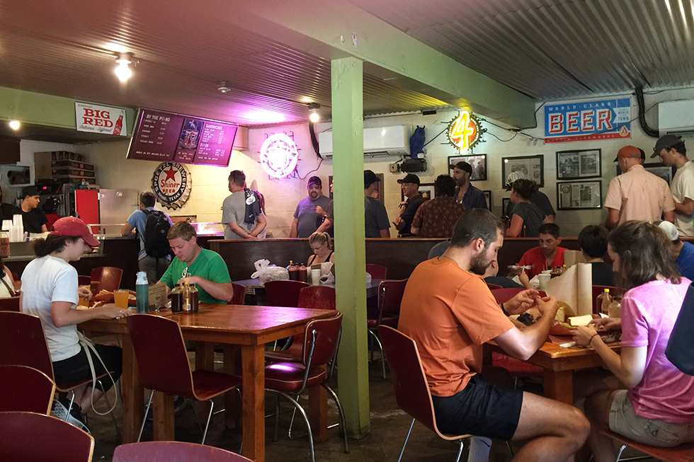 The queue at Franklin Barbecue | Austin, Texas