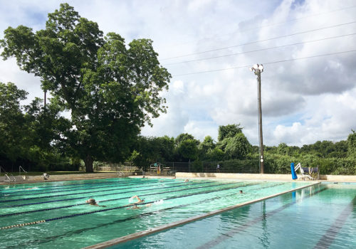 Morning Lap Swim At Deep Eddy Pool | Austin, Texas