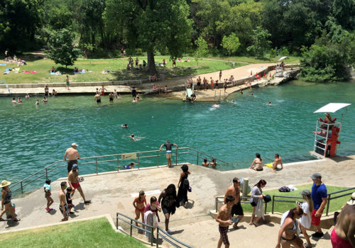 Barton Springs Pool | Austin, Texas