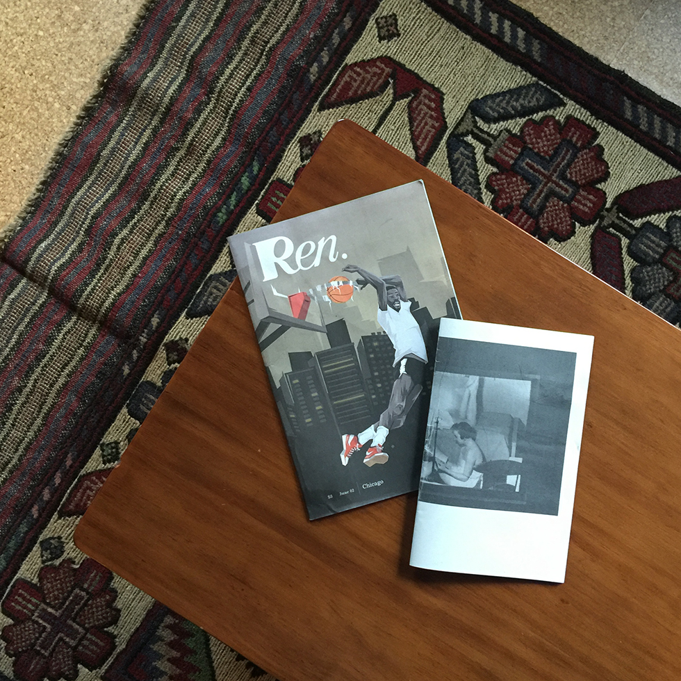 Room 808 coffee table zines | New Orleans, Louisiana
