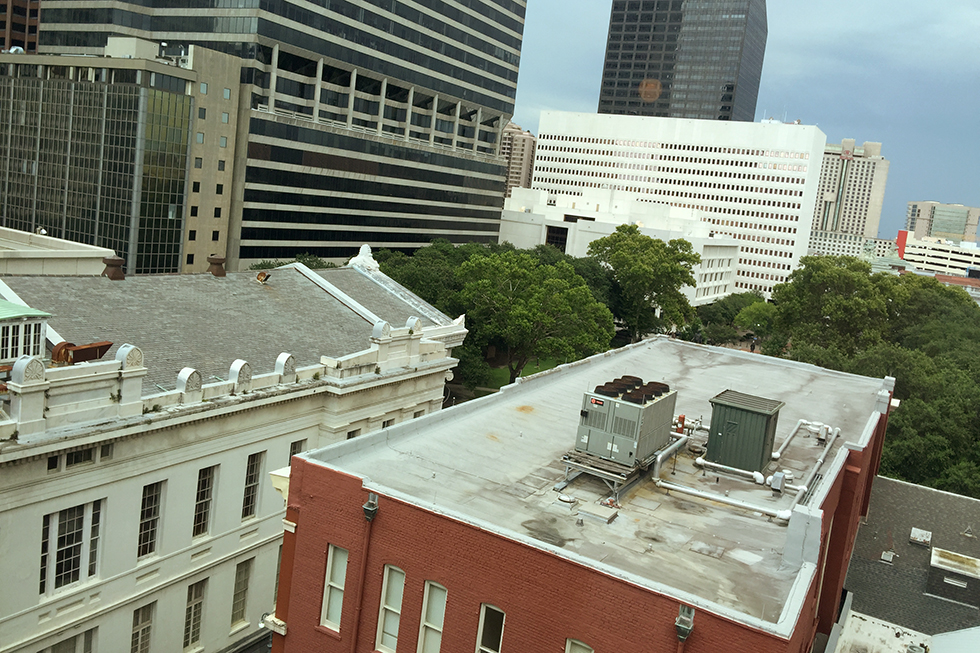 The view from room 808 at Ace Hotel| New Orleans, Louisiana
