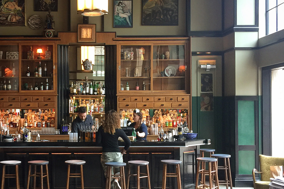 Ace Hotel lobby bar | New Orleans, Louisiana