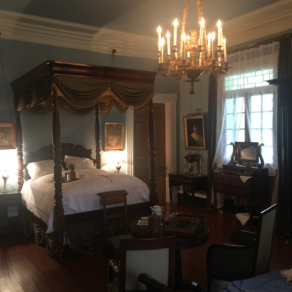Master Suite in the big house at Oak Alley | Vacherie, Louisiana