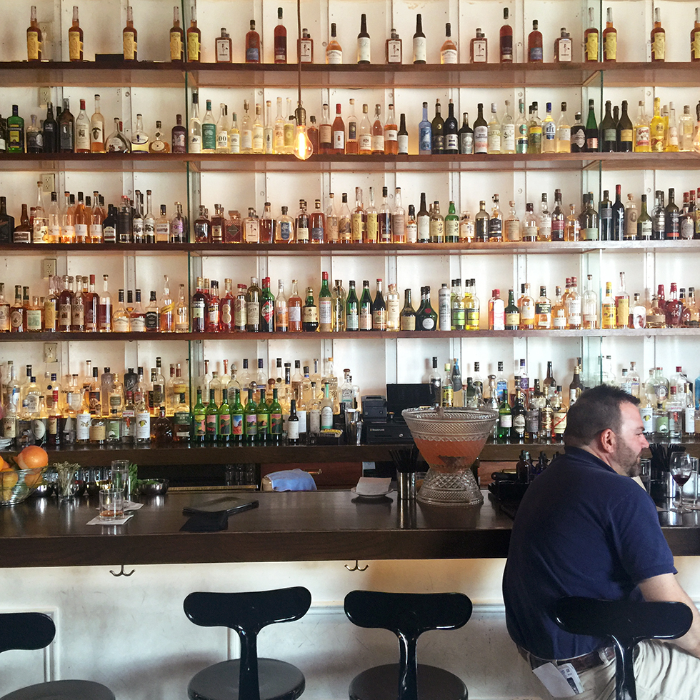 The bar at Cure | New Orleans, Louisiana