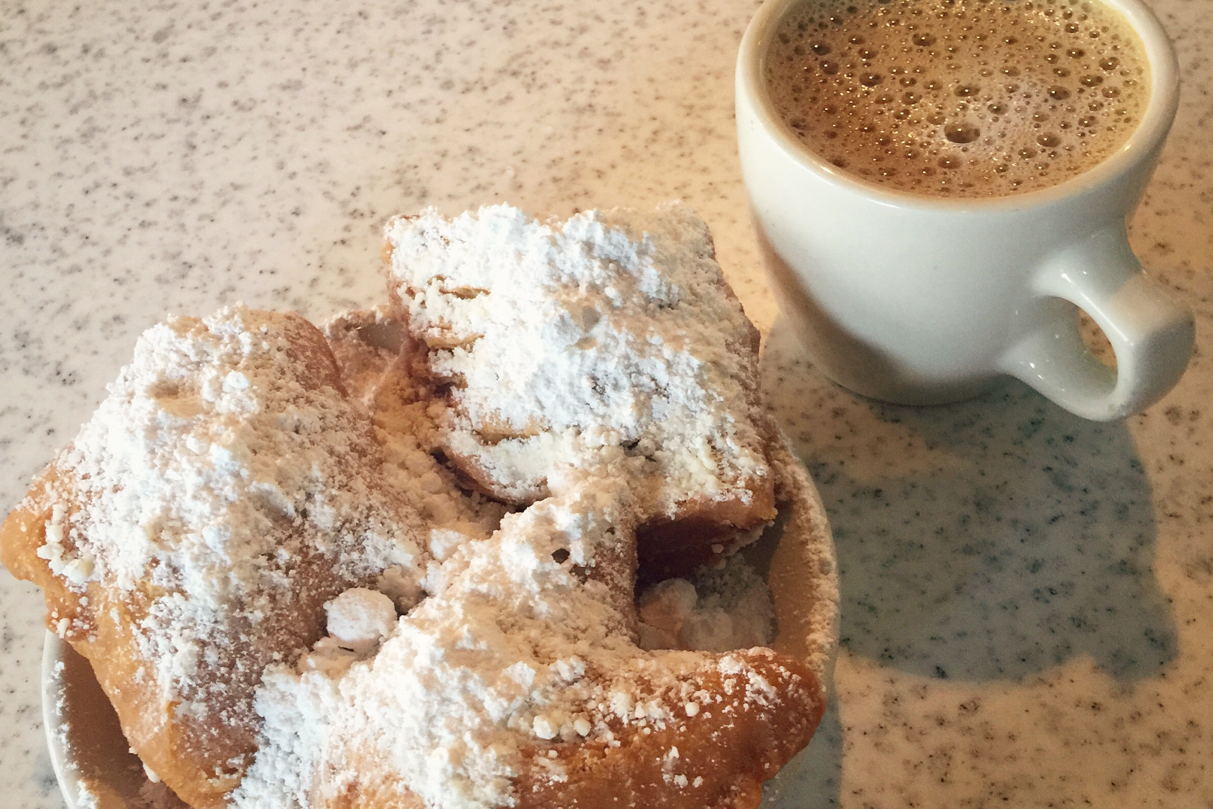 Beignets from Café du Monde | New Orleans, Louisiana