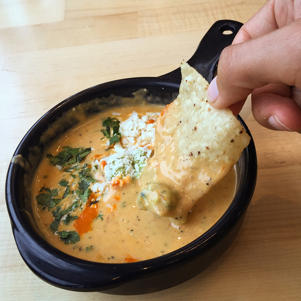 Queso at Torchy's | Austin, Texas