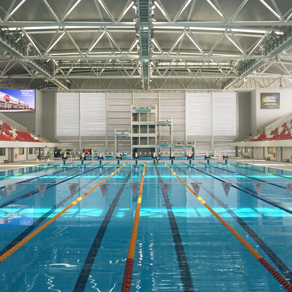 Olympic Pool at Sports Center Hub | Singapore