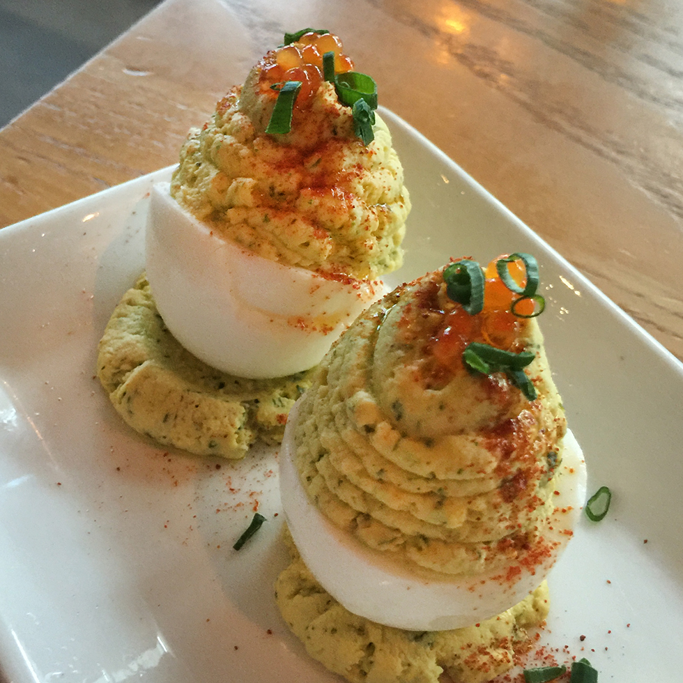 Deviled Eggs at Yardbird | Miami, Florida