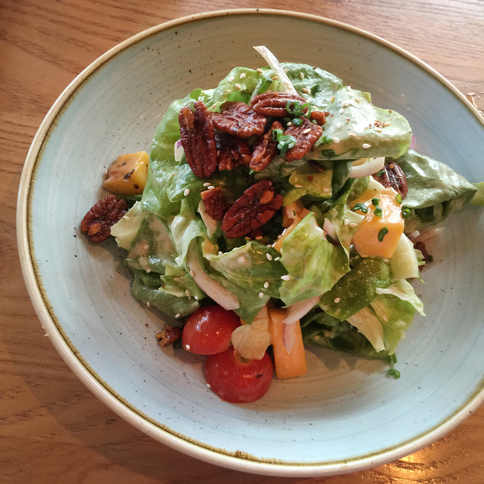 Bibb lettuce salad at Yardbird | Miami, Florida