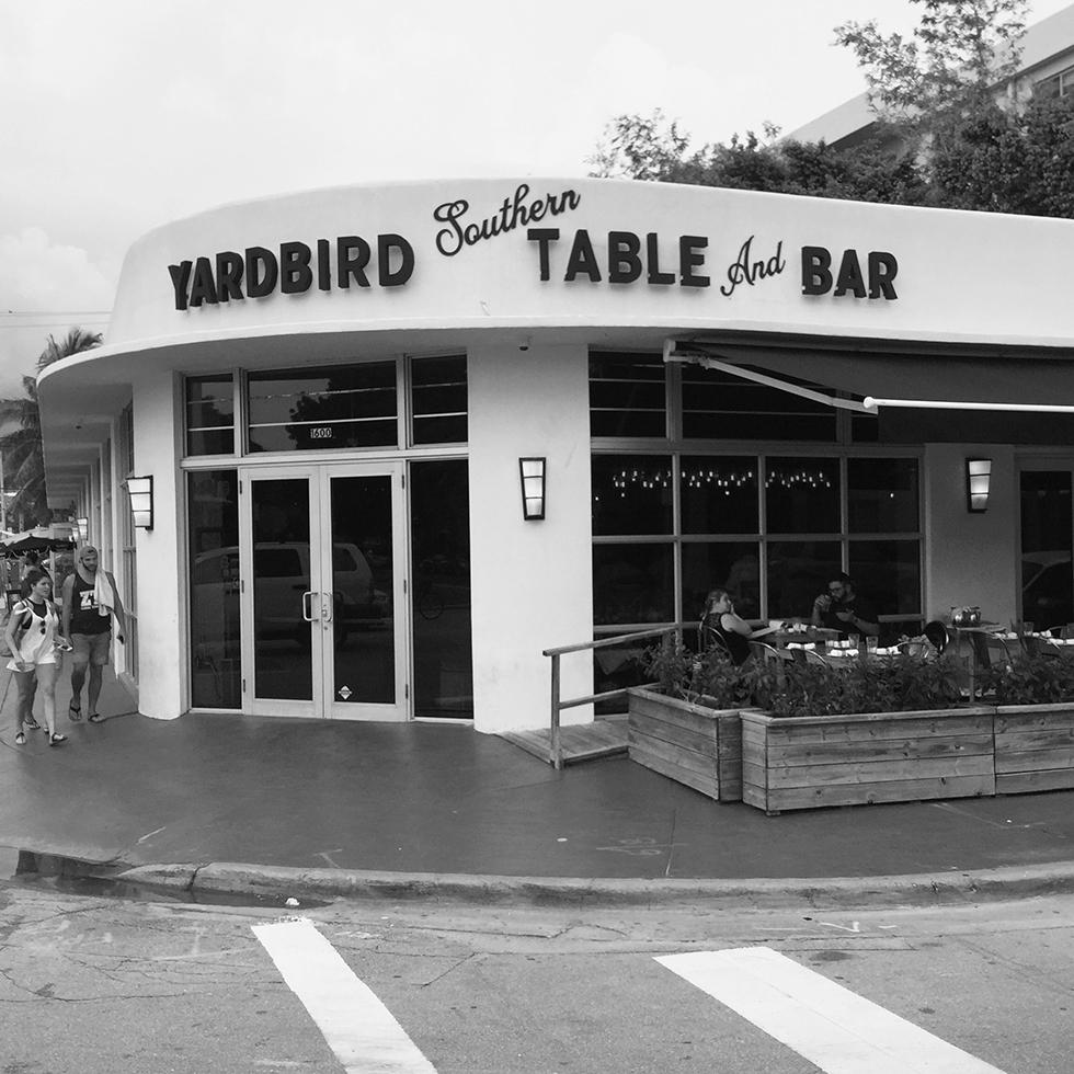 Yardbird southern food restaurant | Miami, Florida