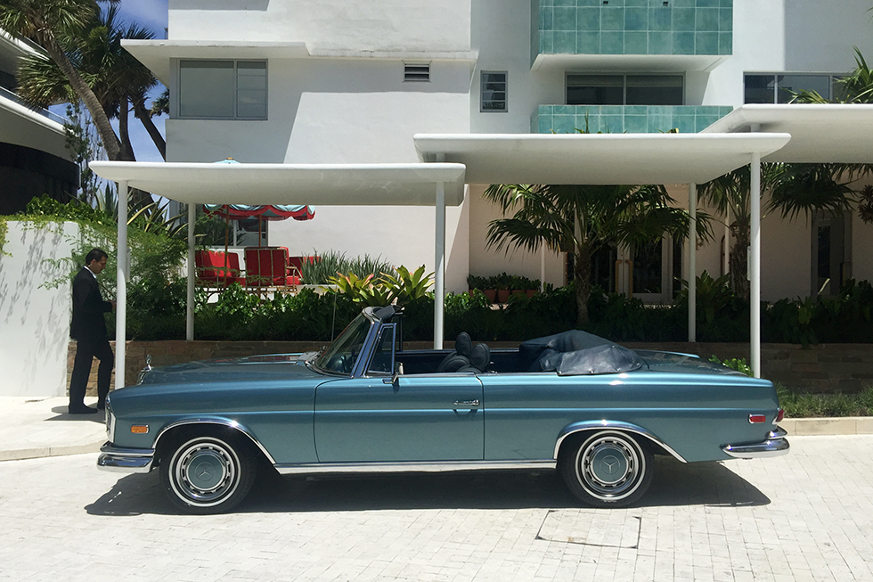 Valeting classics at Faena Hotel | Miami, Florida