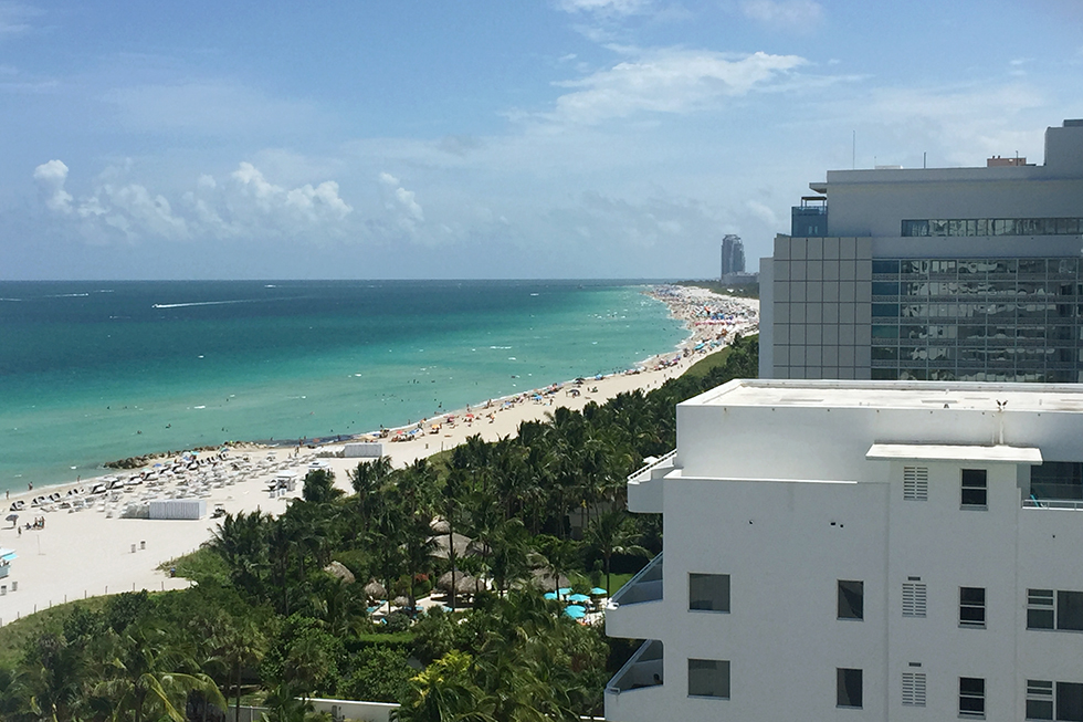 Faena Hotel Miami Beach: The View from Room 1211 | Miami, Florida