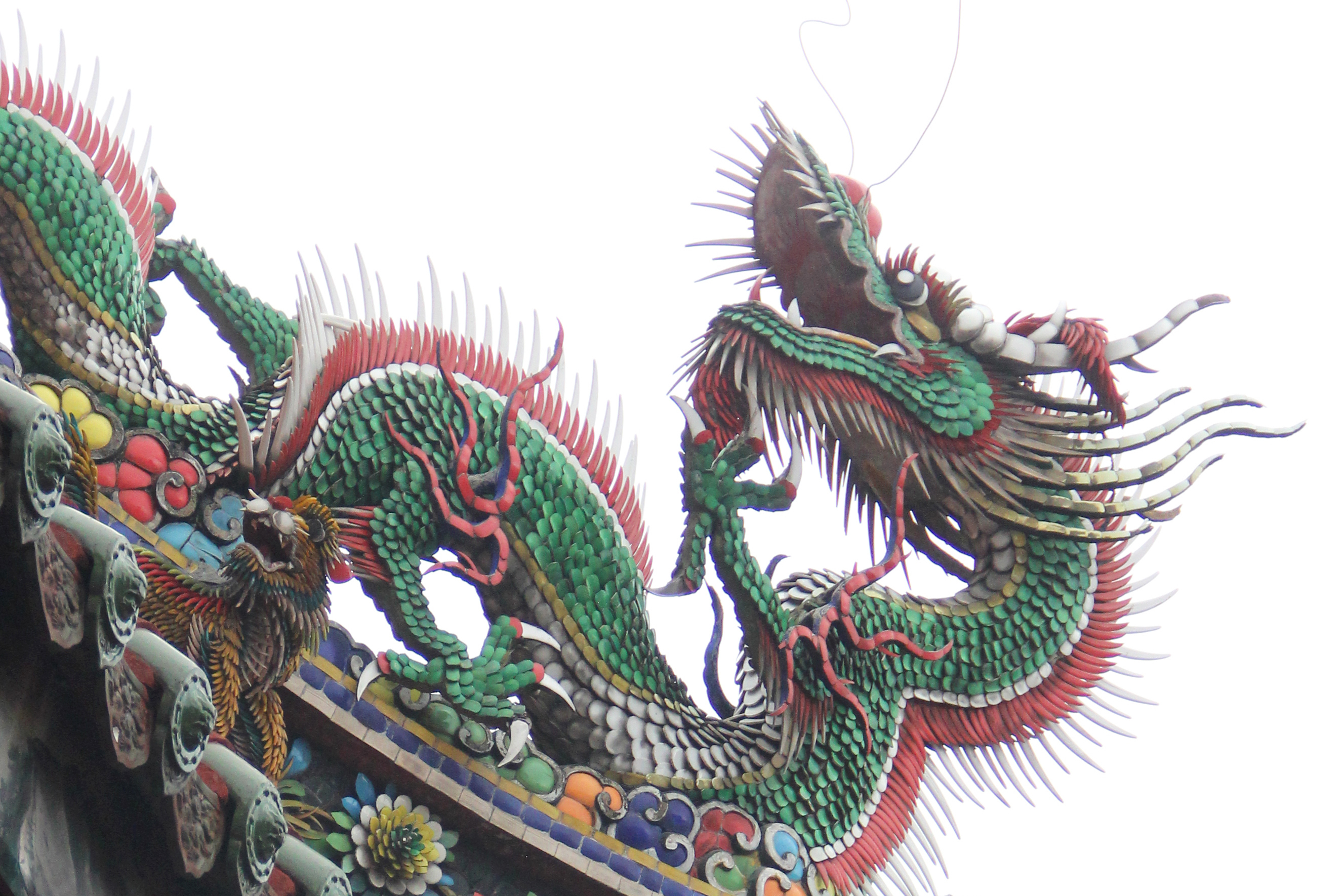 Lungshan Temple of Manka Dragons
