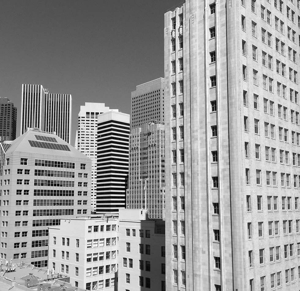View from the new San Francisco MOMA terrace | San Francisco, California