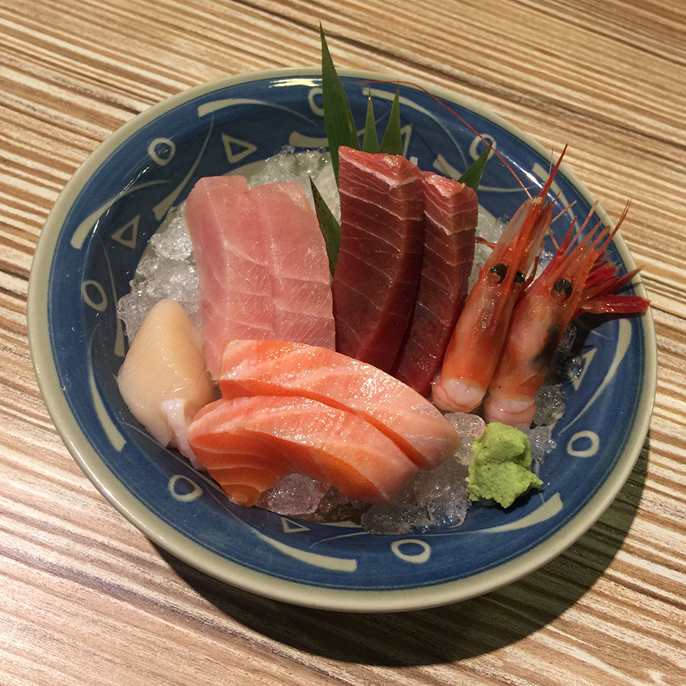 Sashimi set from Addiction Aquatic Development | Taipei, Taiwan