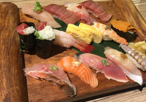 Deluxe Sushi Set From Addiction Aquatic Development | Taipei, Taiwan