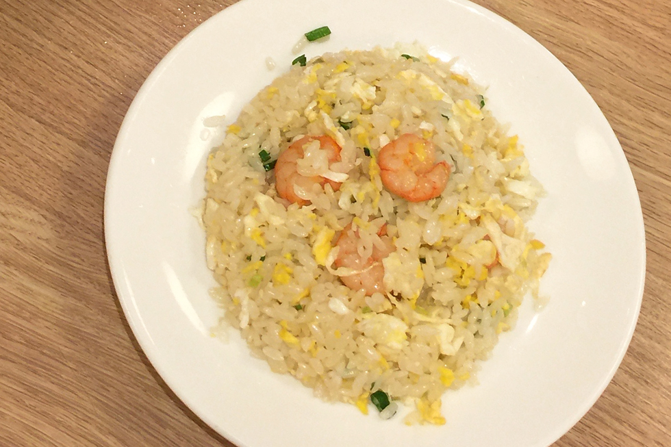 Shrimp fried rice from Din Tai Fung | Taipei, Taiwan