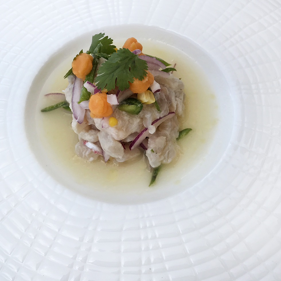 Amanyara's lobster and snapper ceviche | Turks and Caicos