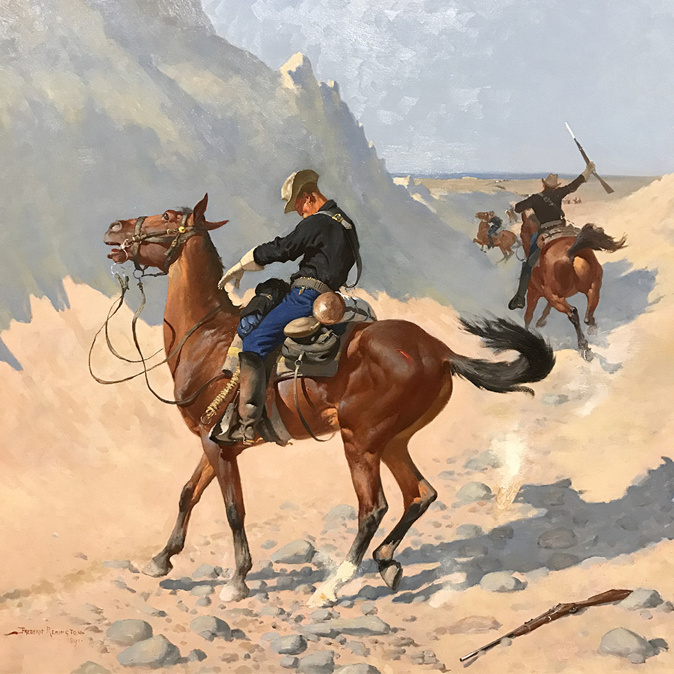Frederic Remington at the AIC | Chicago, Illinois