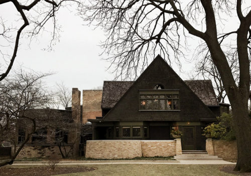 Frank Lloyd Wright's Home And Studio In Oak Park