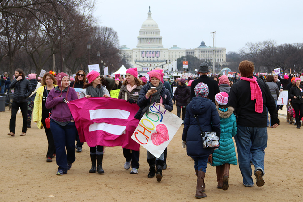 Women's March on The Mall in DC | Washington D.C.