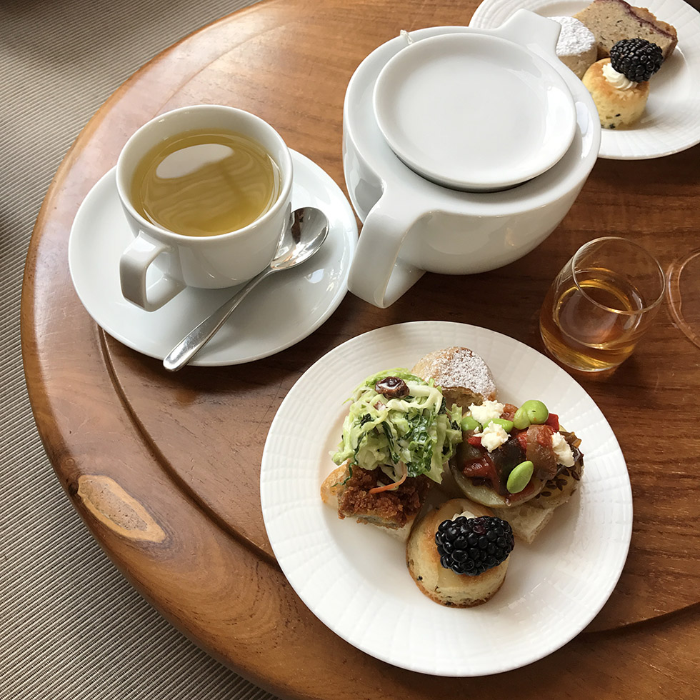 Tea and snacks every afternoon at Amanyara | Turks and Caicos
