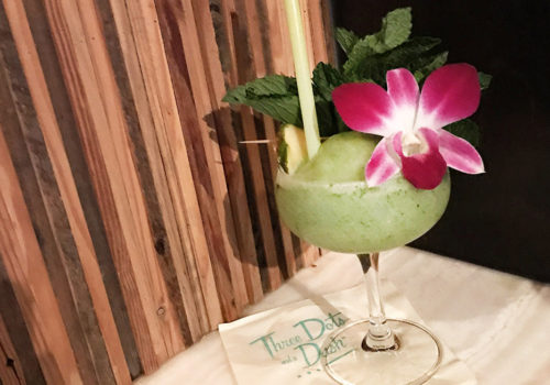 Tiki Time At Three Dots And A Dash