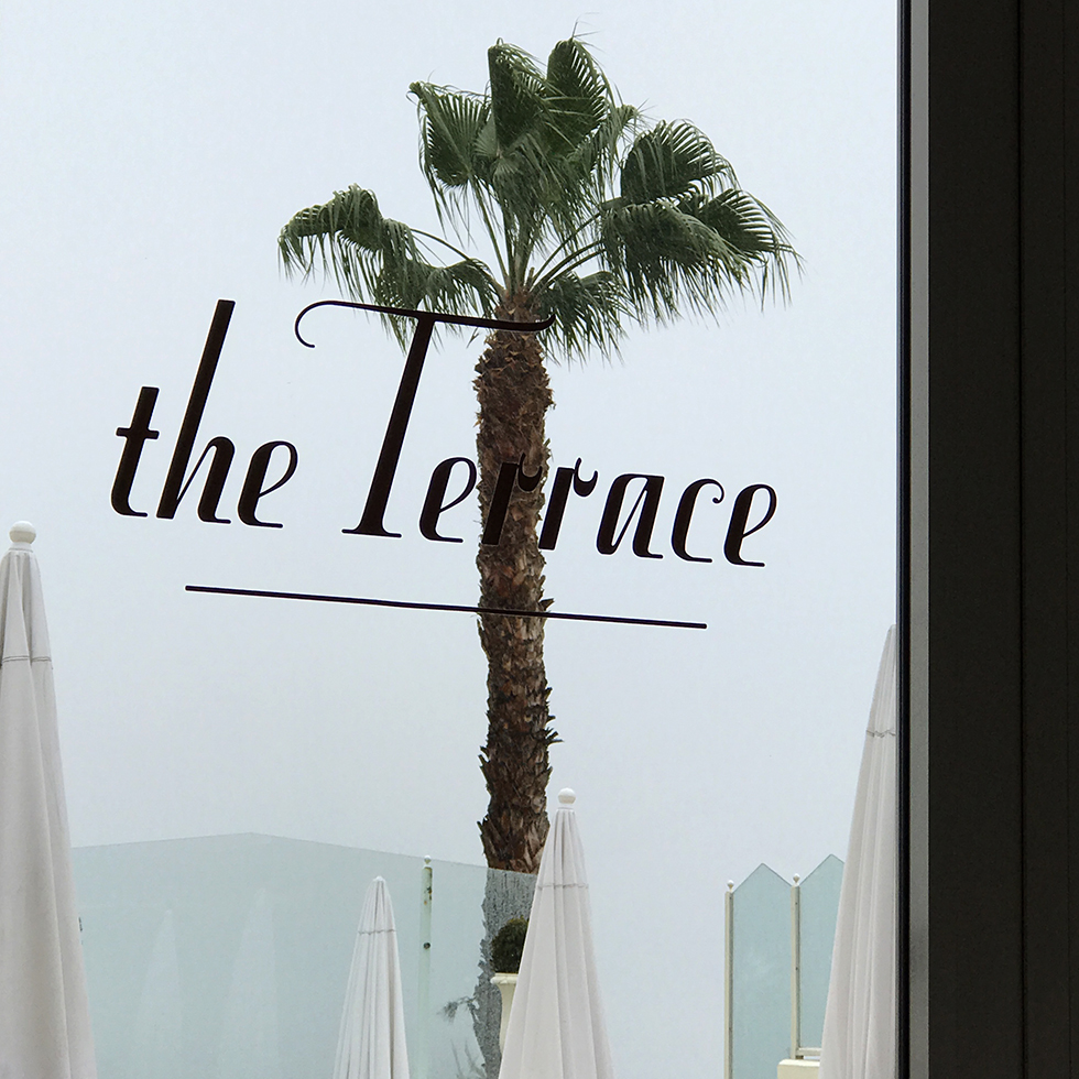 Dining Room at The Terrace in Sunset Tower Hotel | Los Angeles, California