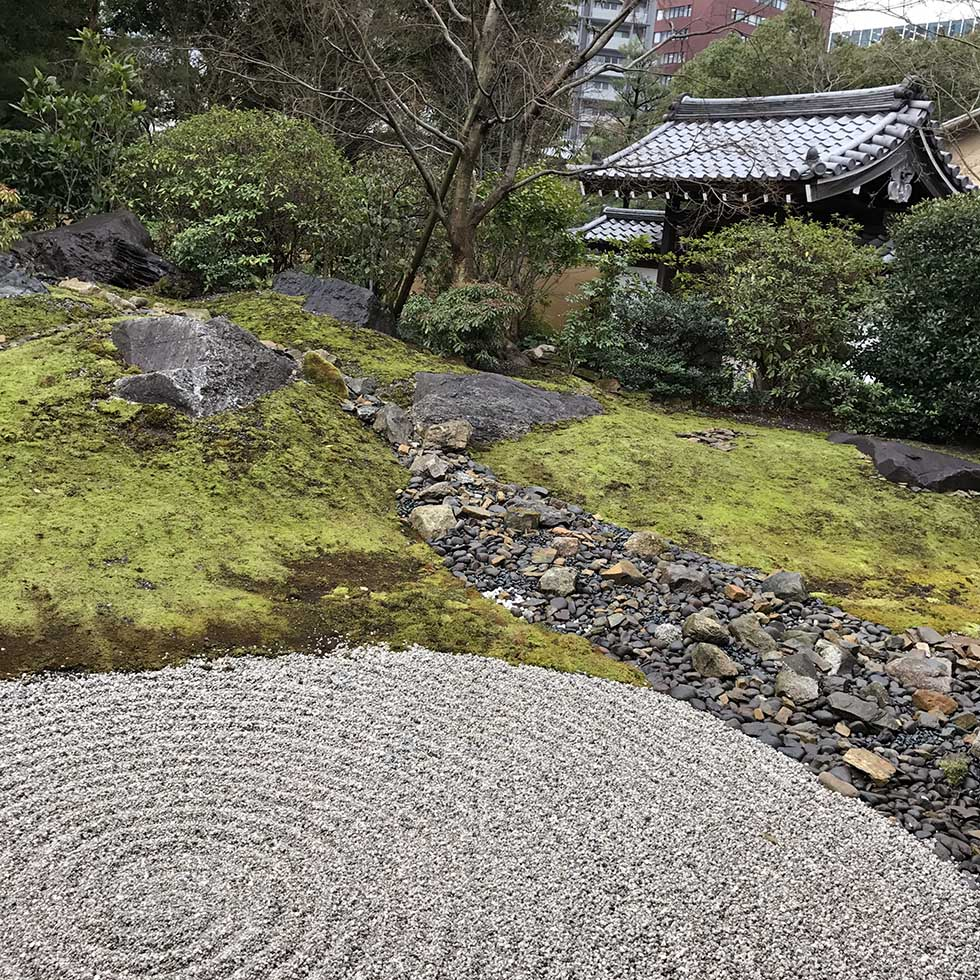 Rock garden at Joten-ji Temple | Fukuoka, Japan