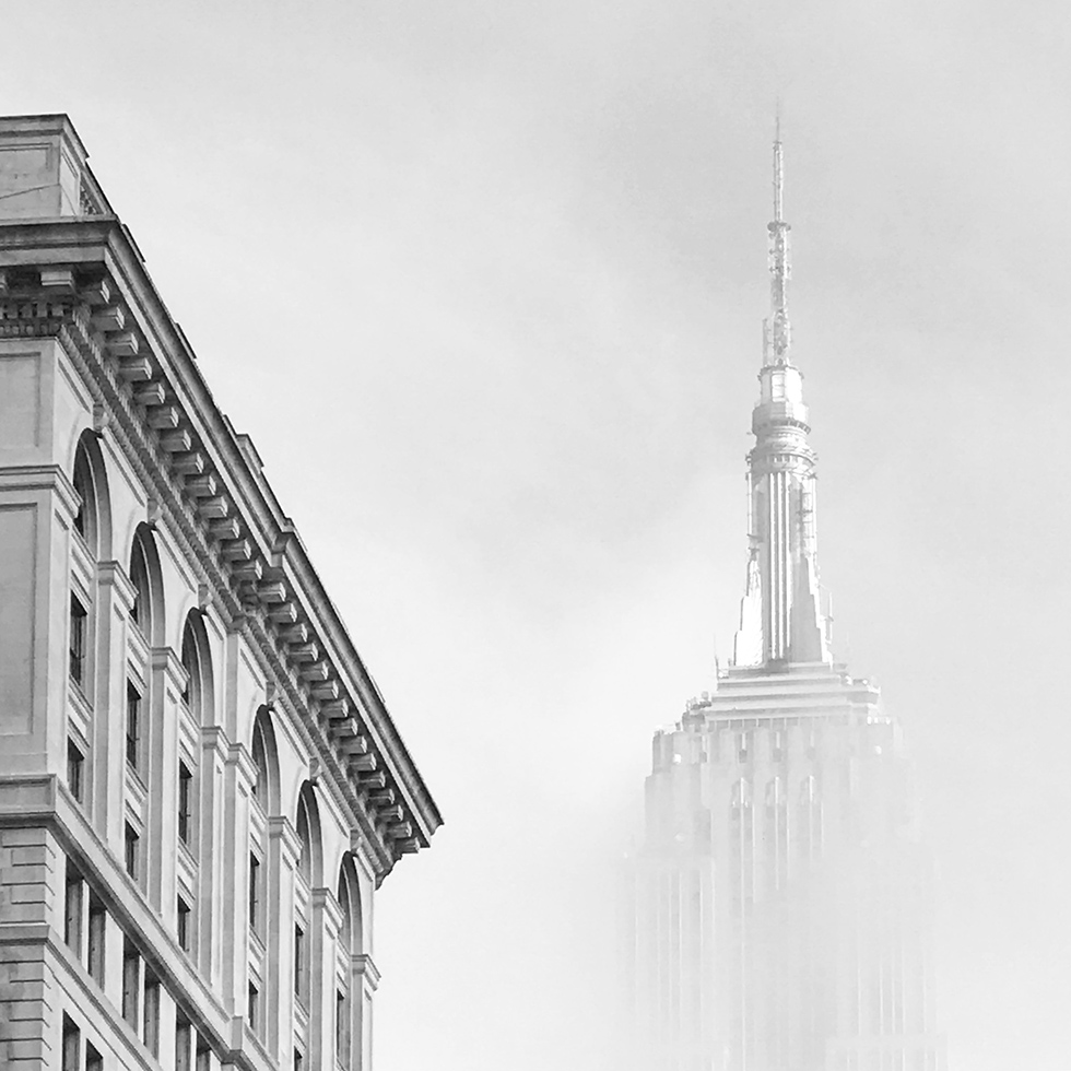 Foggy New York City | New York, New York